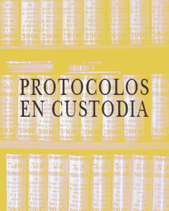 Protocolos en Custodia Notaría Juan Aznar de la Haza