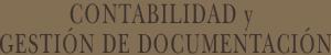 Contabilidad y gestión de Documentación Notaría Aznar